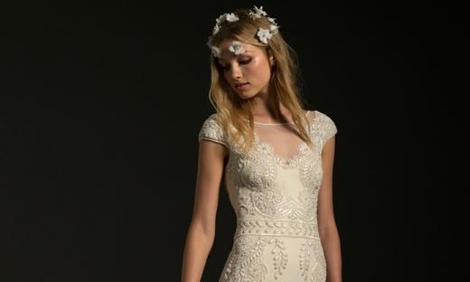 2017秋冬婚紗[Temperley London]紐約時裝發布會