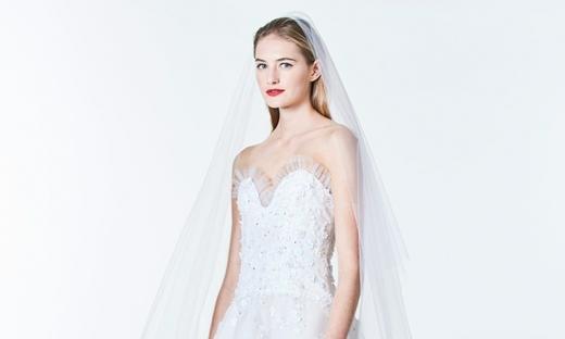 2017秋冬婚紗[Carolina Herrera]紐約時裝發布會