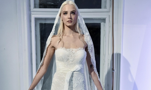 2017春夏婚纱[Ines Janković]贝尔格莱德时装发布会