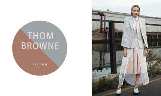 Thom Browne - 彩色花海 (2017春游)