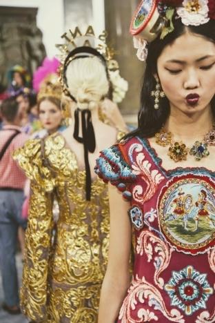 Dolce & Gabbana 2017秋冬高定