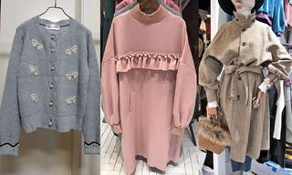 針織|衛衣|系帶:韓國東大門初秋零售分析