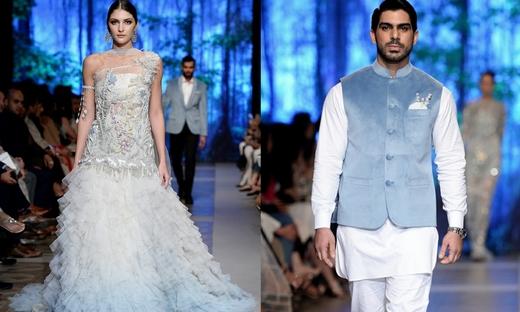 2018春夏婚纱[Sana Safinaz]巴基斯坦时装发布会