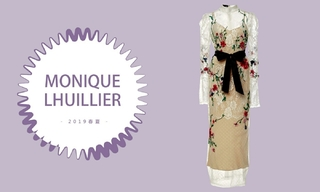 "Monique Lhuillier - ""逃离""至法国乡村(2019春夏 预售款)"
