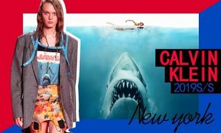 Calvin Klein:在鲨鱼口中逃生(2019春夏)