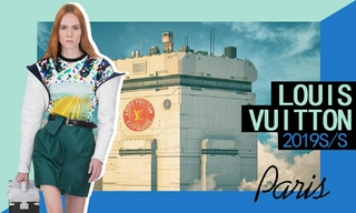 Louis Vuitton:私奔到外太空(2019春夏)