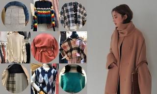 【韩国东大门】衬衫|菱形绗缝|柔软羊羔毛