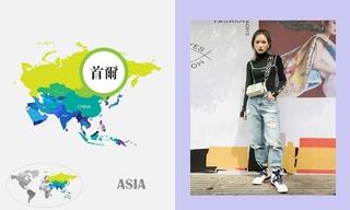 七月韩国时尚街拍(一)