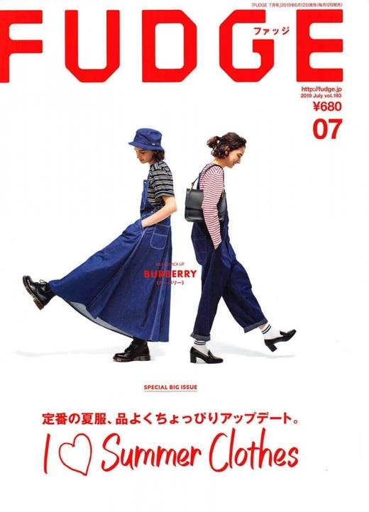fudge 日本 2019年7月