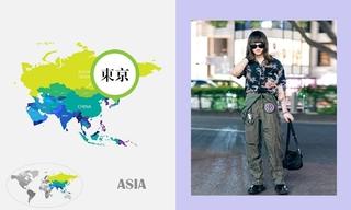 七月日本时尚街拍(一)