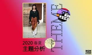 2020春夏主题分析/文字街头