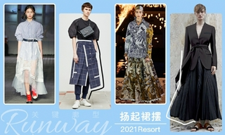 2021春游廓型:揚起裙擺