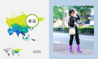八月日本时尚街拍
