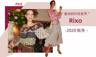 Rixo x Christian Lacroix -  膠囊系列(2020/21秋冬即看即購)