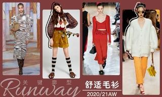 2020/21秋冬廓型:舒適毛衫
