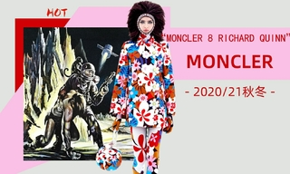 Moncler - Moncler 8 Richard Quinn(2020/21秋冬)