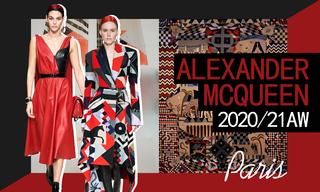 Alexander McQueen:威爾士神秘主義(2020/21秋冬)