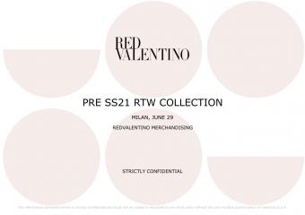 Red Valentino 2021春夏