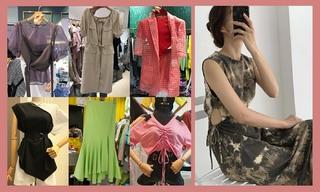 【韓國東大門】工裝裙|薄紗衫|斜肩裝